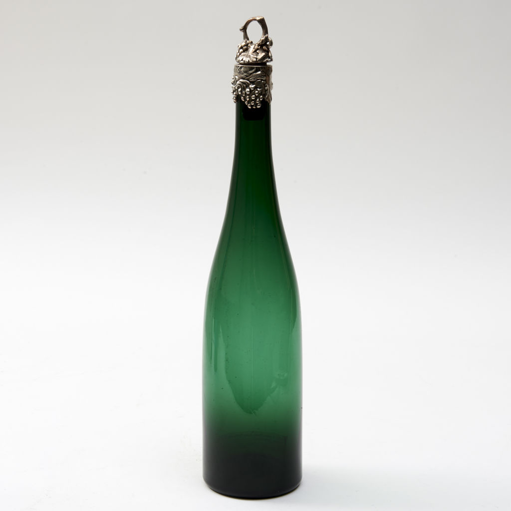 Green and Silver Bottle