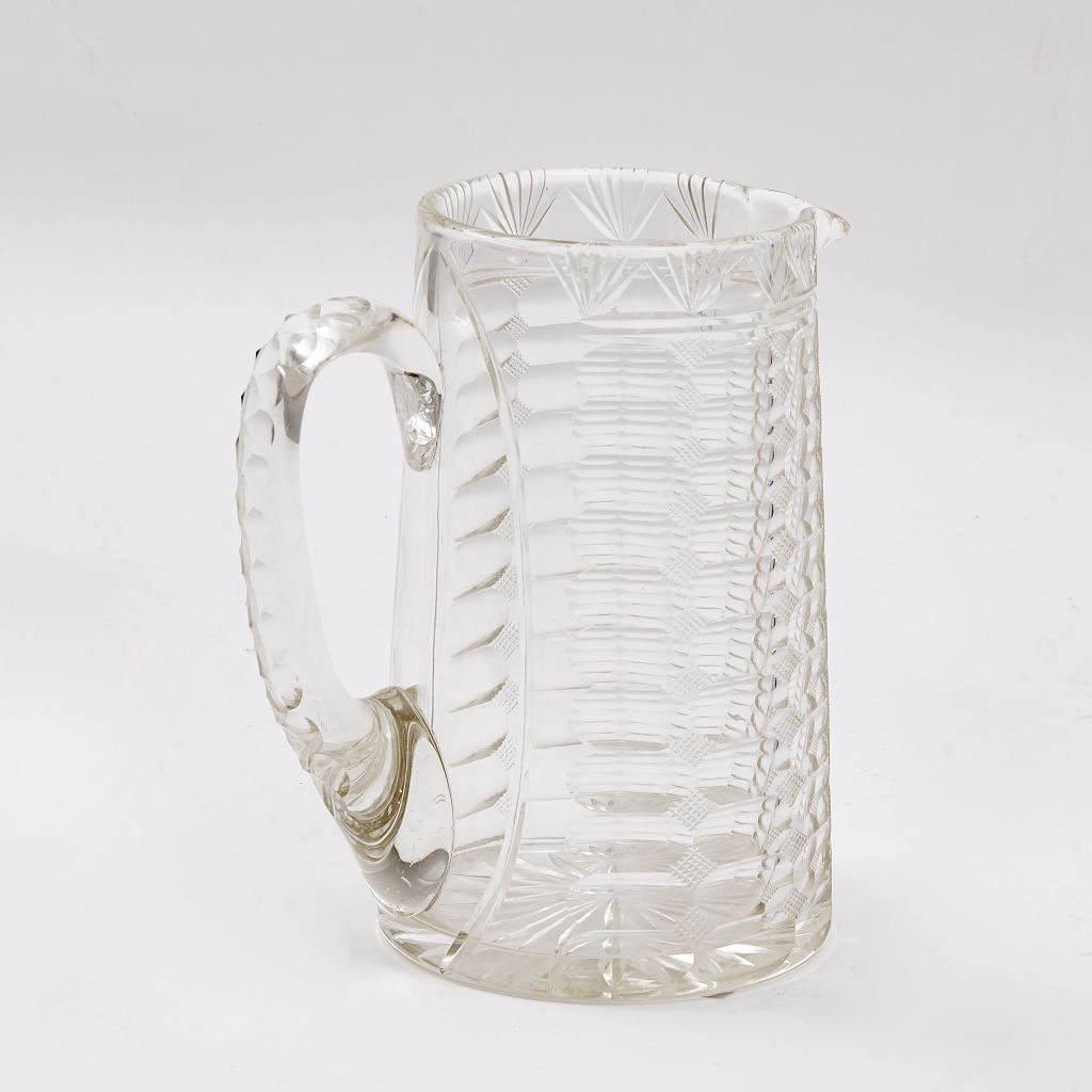 English Cut Crystal Jug