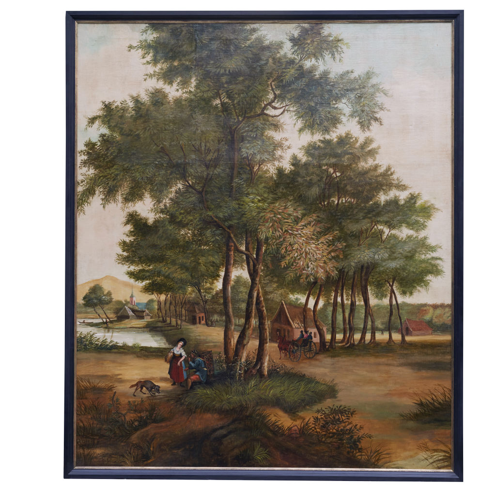 Large Rural Landscape Painting