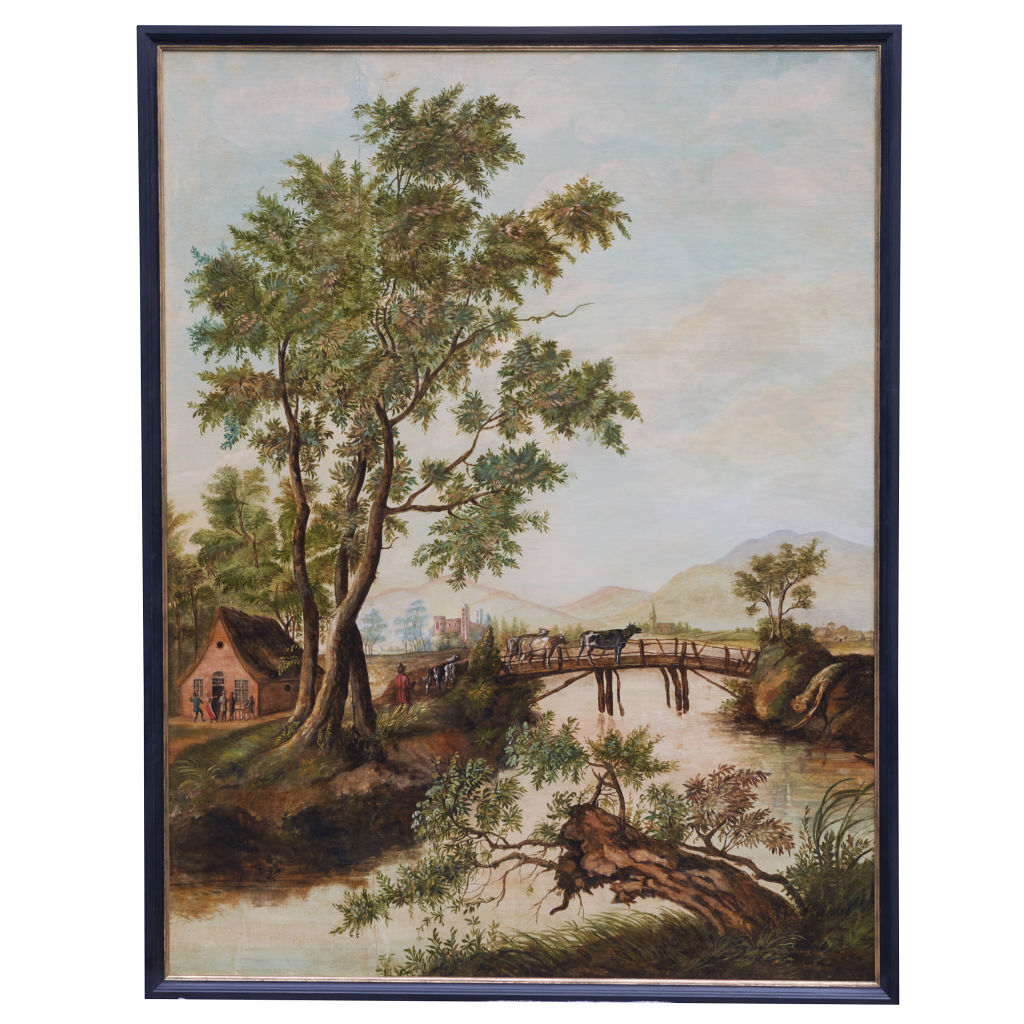 18thC German Landscape Painting
