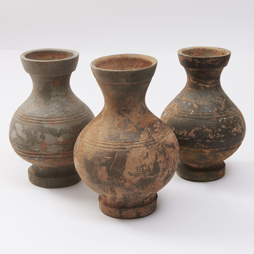 Han Dynasty Grain Jars