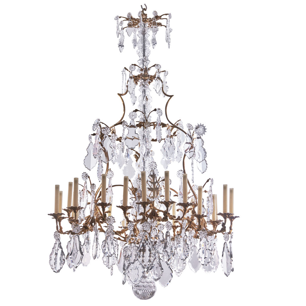Very Large Louis XV Style Chandelier