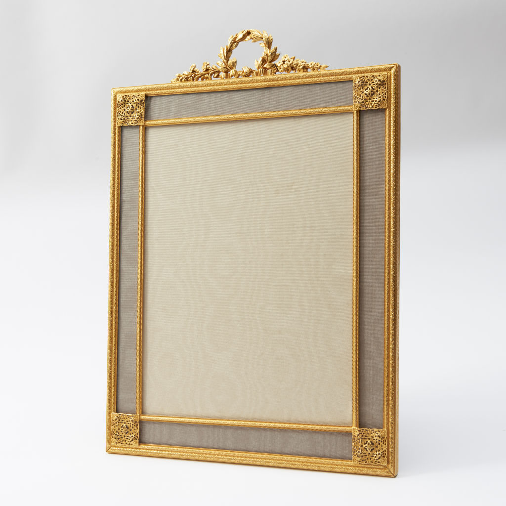 Ormolu Frame with Grey Slip