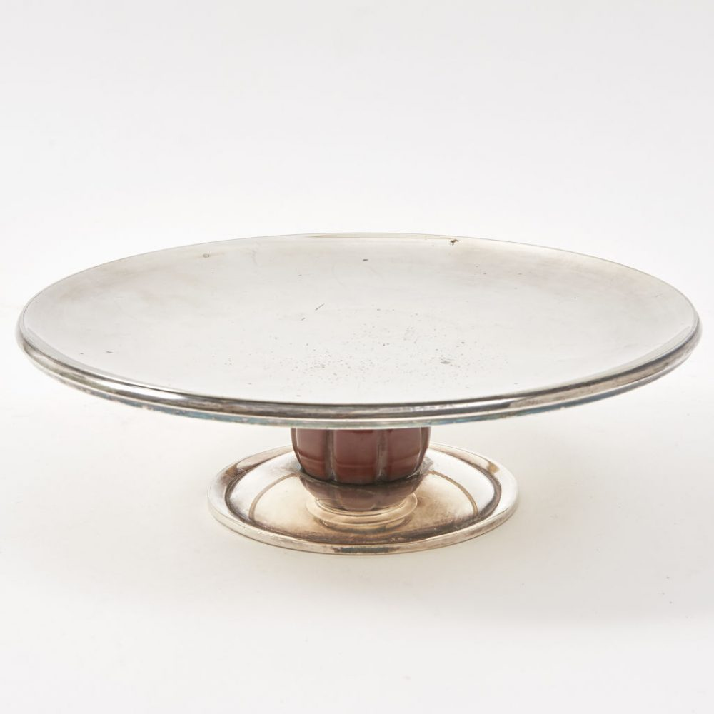 Mappin and Webb Silver Plate Tazza