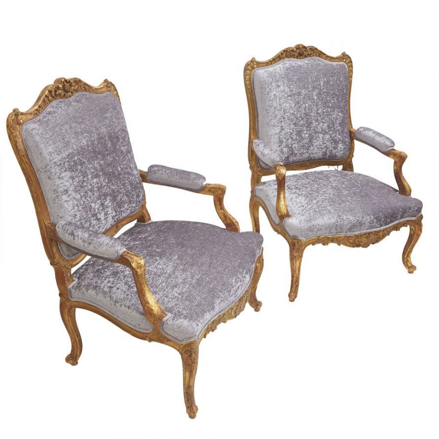 French Regence Fauteuils
