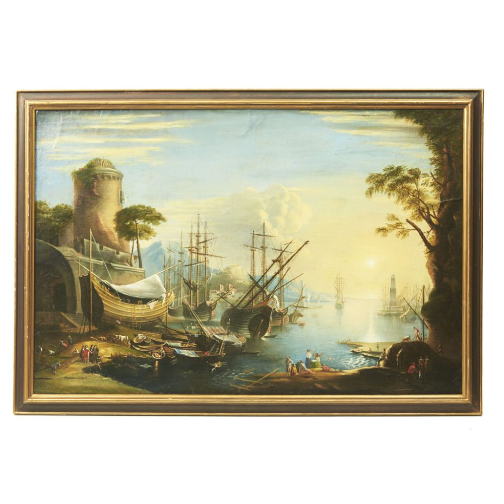 Oil Painting In Manner of Vernet