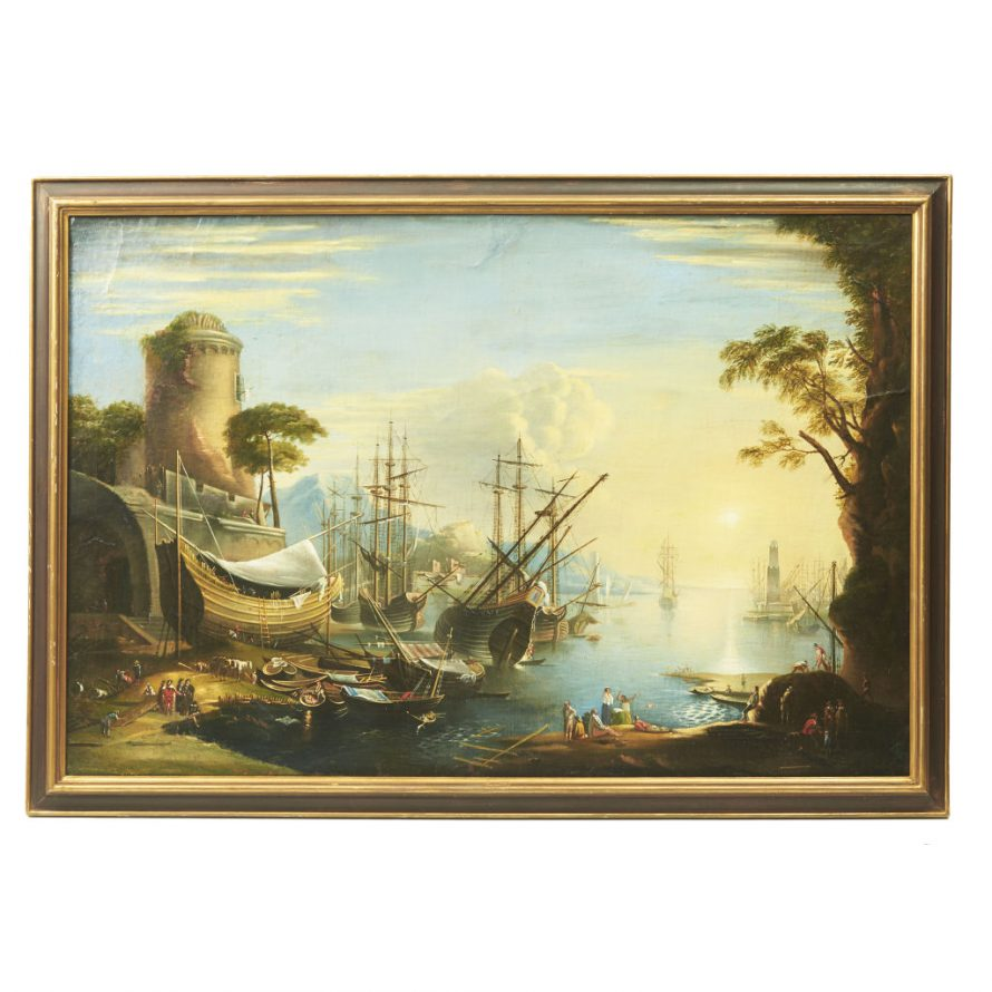 Oil Painting In The Manner of Vernet