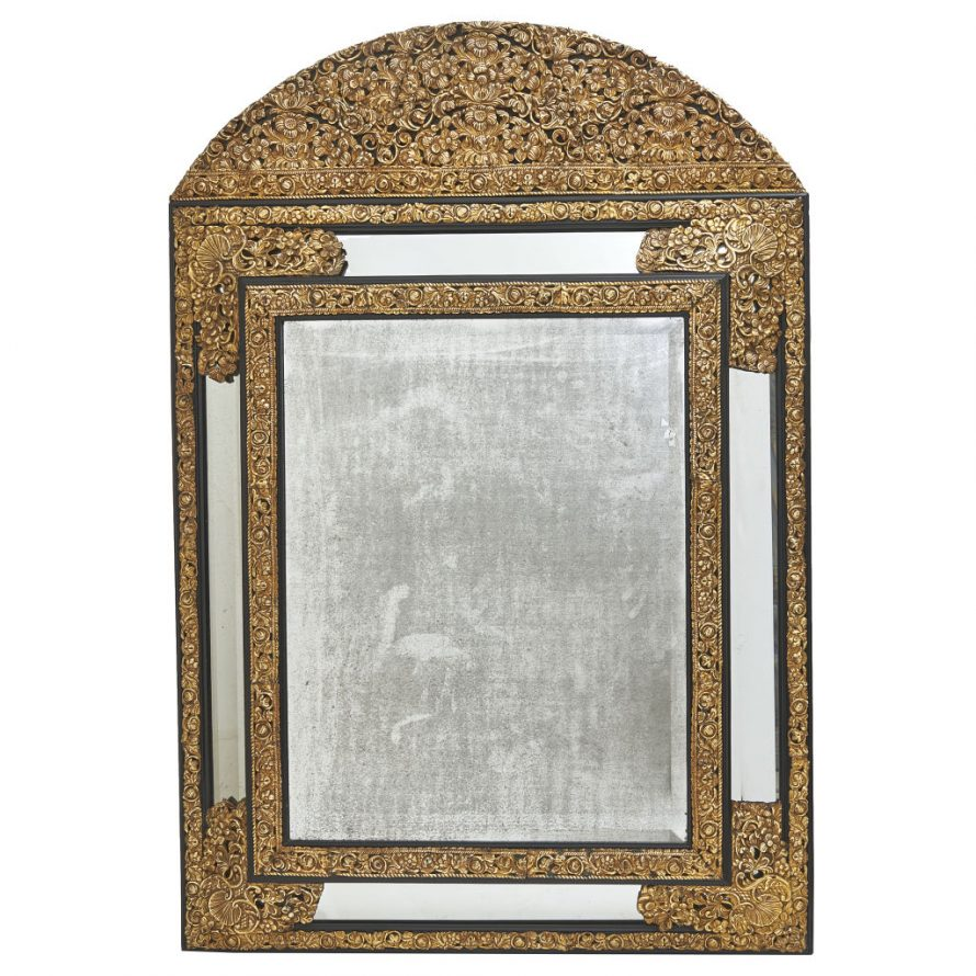 Large Repousser Mirror
