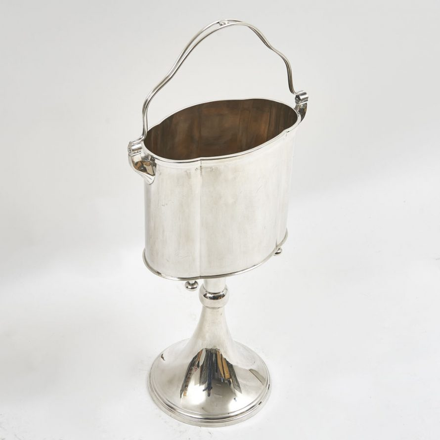 Silver Pate Champagne Bucket