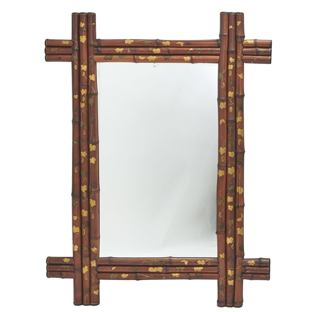 Japanese Bamboo Mirror