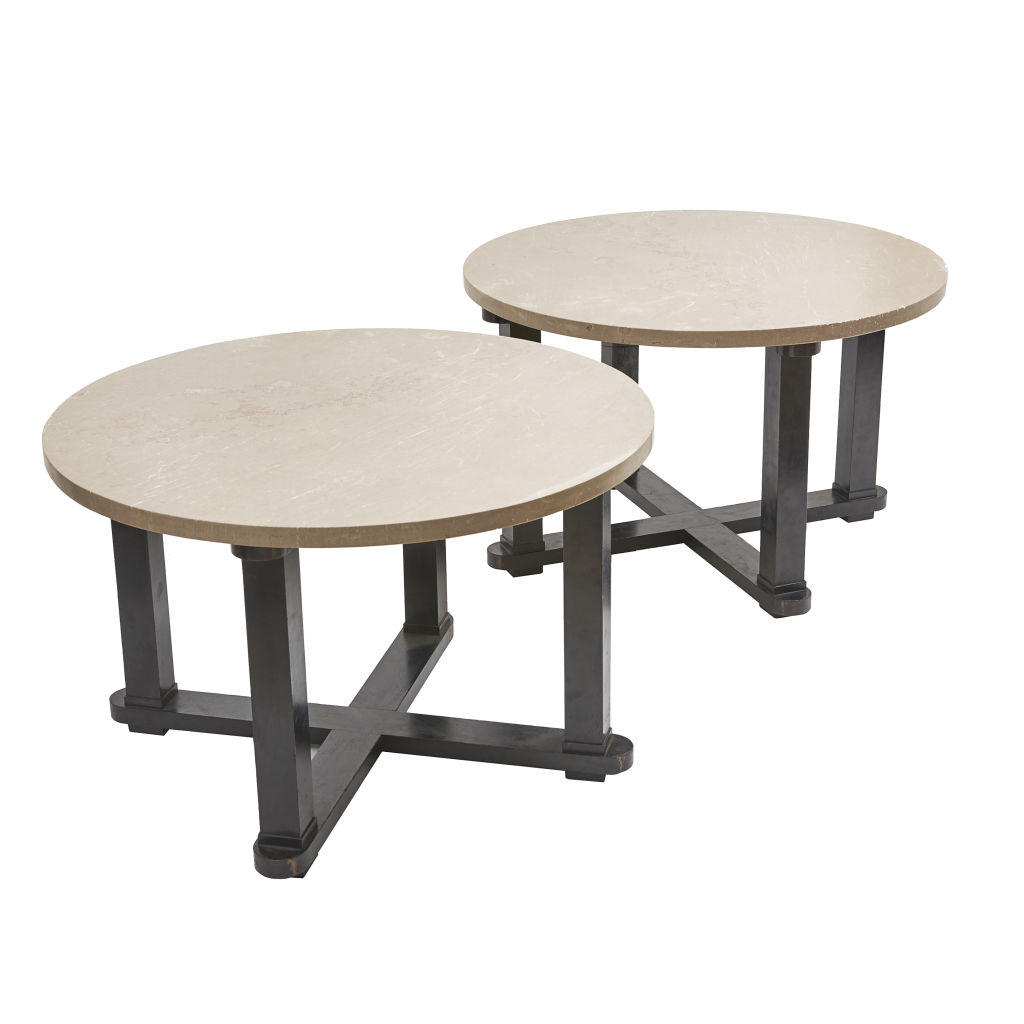 Pair 50's End Tables