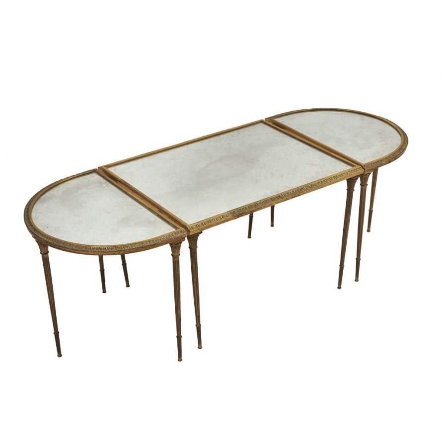 Bagues Three Part Coffee Table