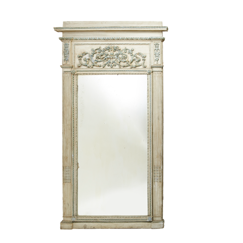 Louis XVI Painted Mirror