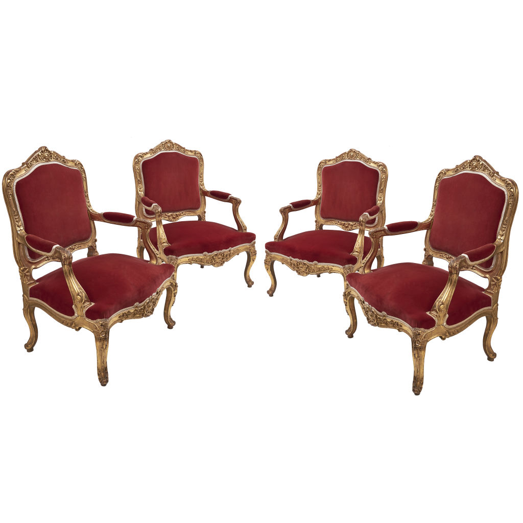 Louis XV Style Armchairs
