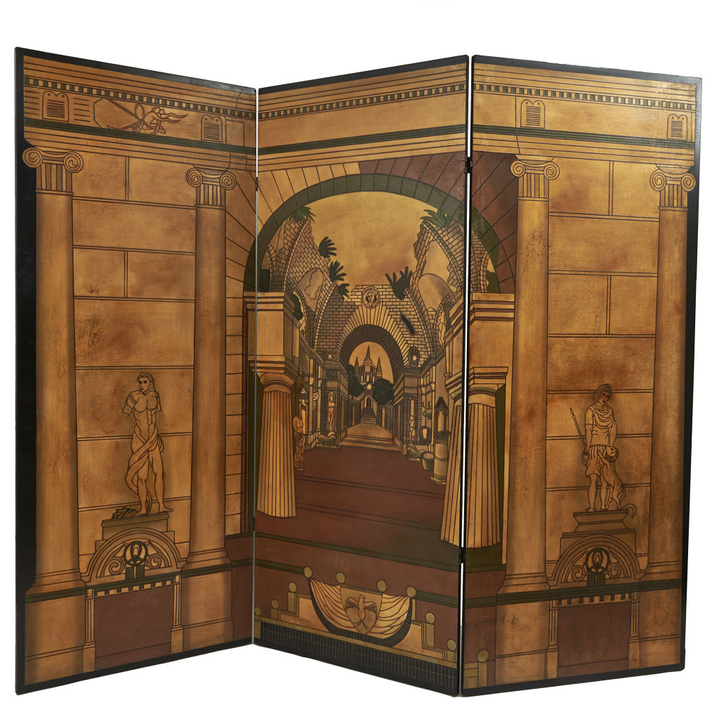 Neo-Classical Lacquered Screen