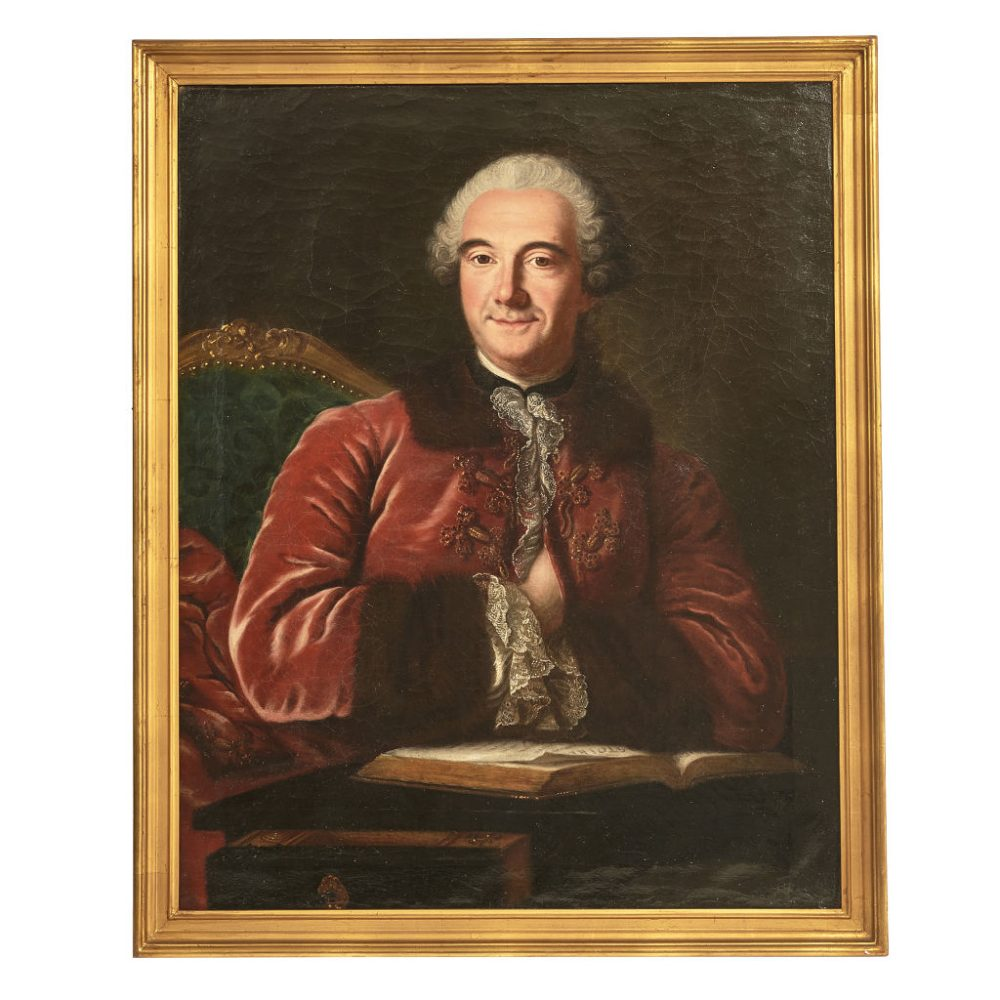 French Oil Painting of a Gentleman