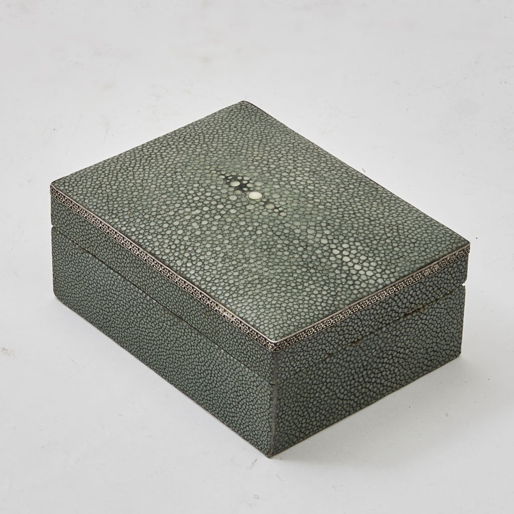 Shagreen and Silver Box