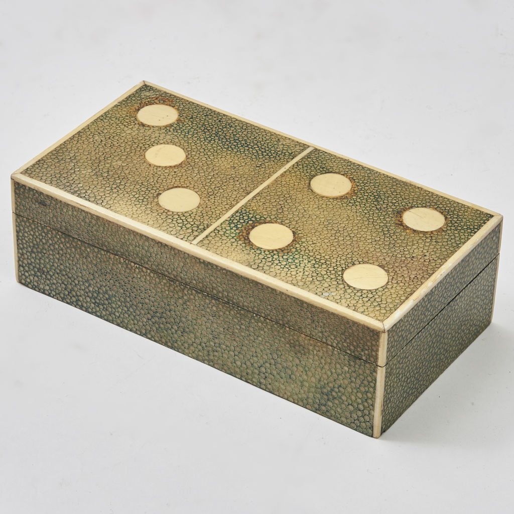Domino Design Shagreen Box