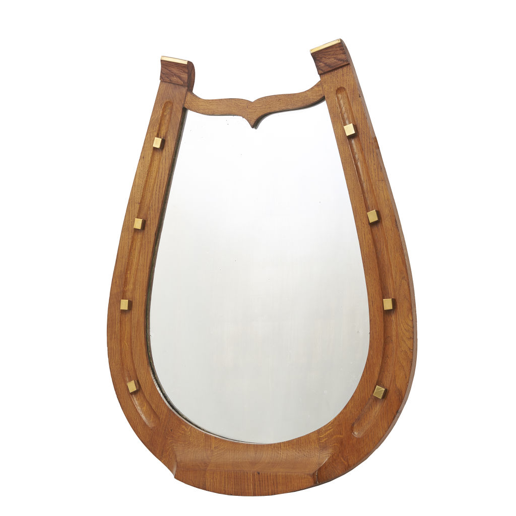 Edwardian Horseshoe Mirror