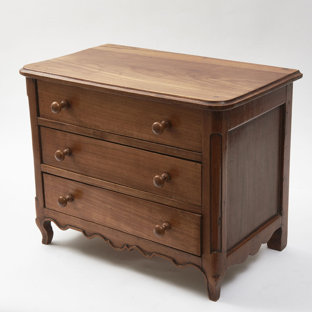 Miniature Walnut Commode