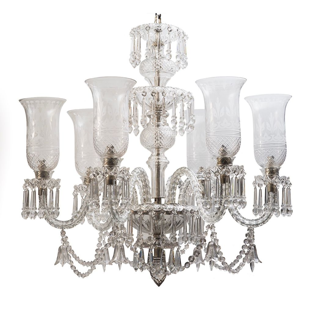 Contemporary Osler Style Chandelier