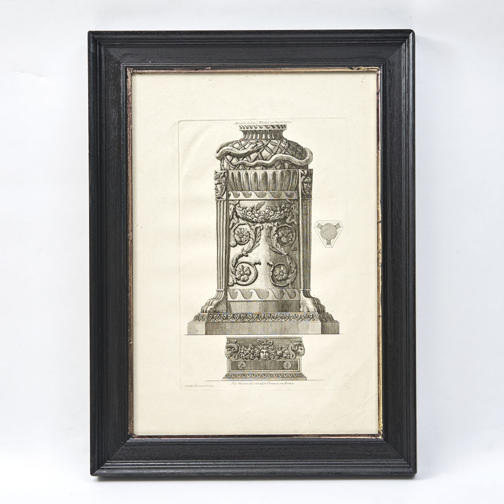 Piranesi Print of an Architectural Element