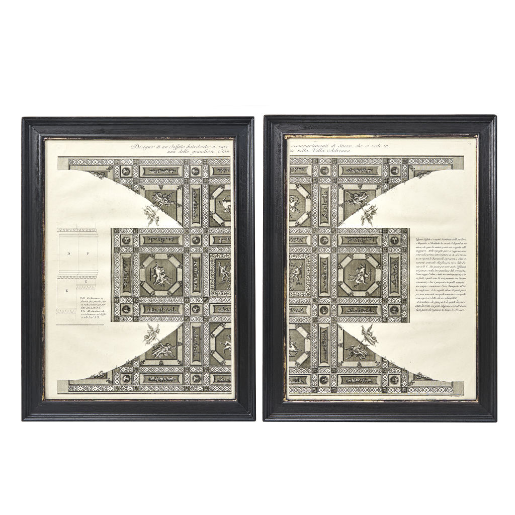 Pair Piranesi Prints