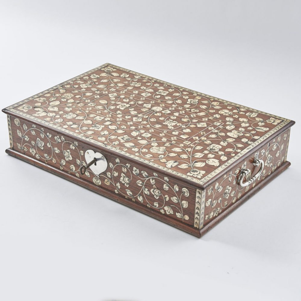 Indian Vizagapatam Writing Box
