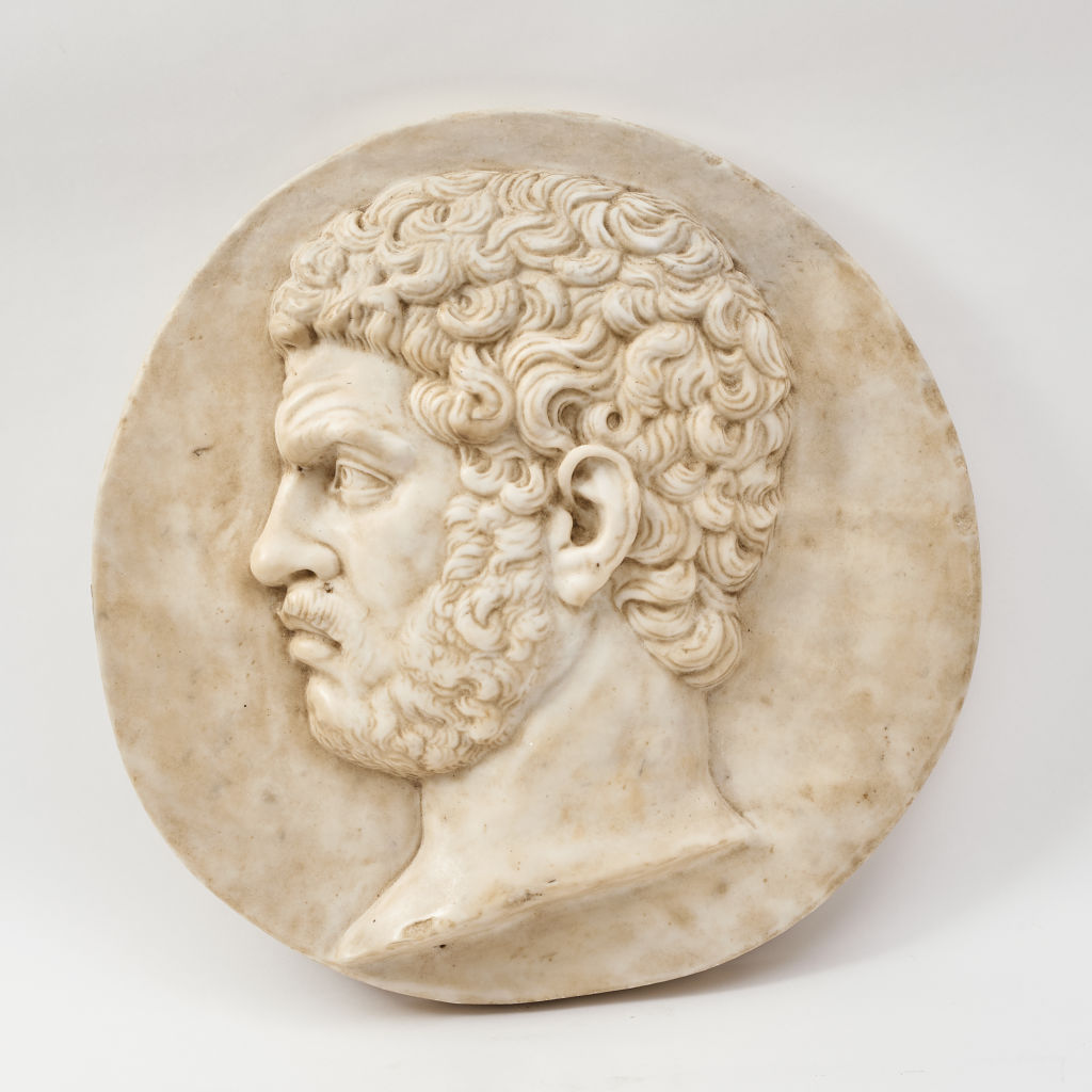 Marble Caracalla Plaque