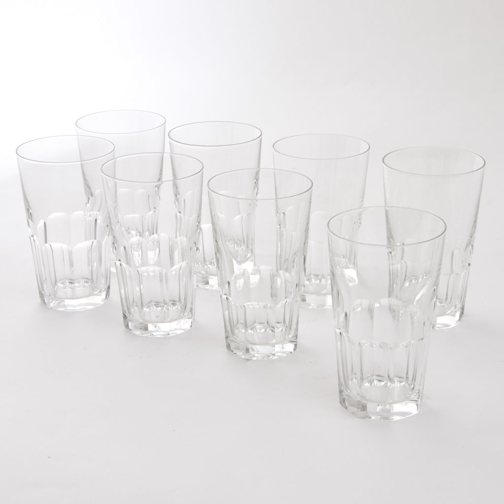 8 Water Glasses