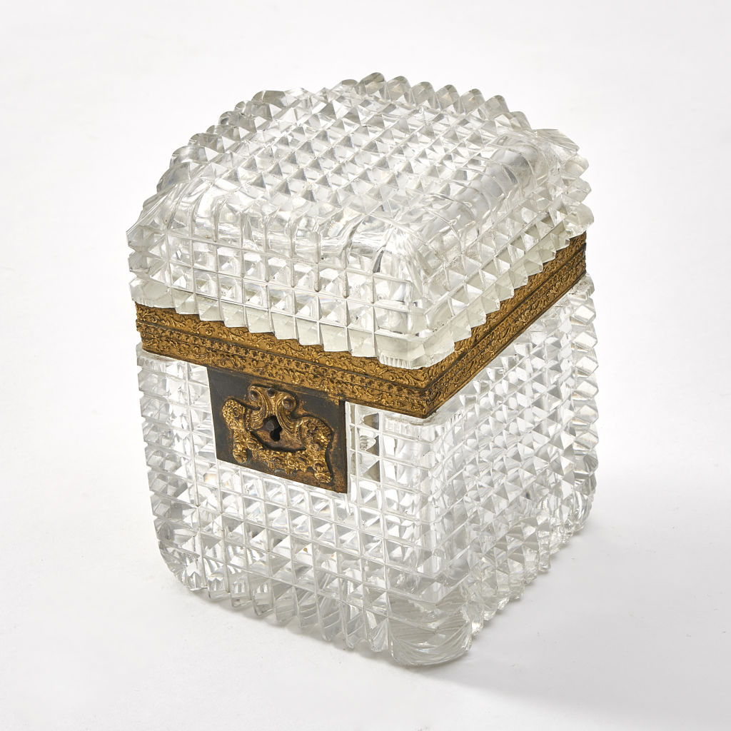 Baccarat Diamond Cut Casket