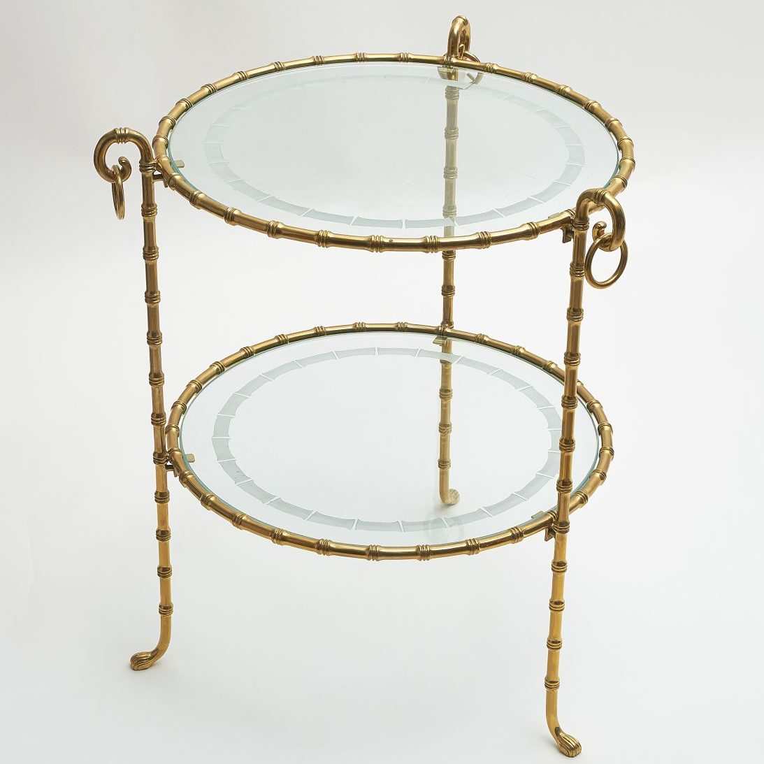 Contemporary Gilt Bronze Étagère