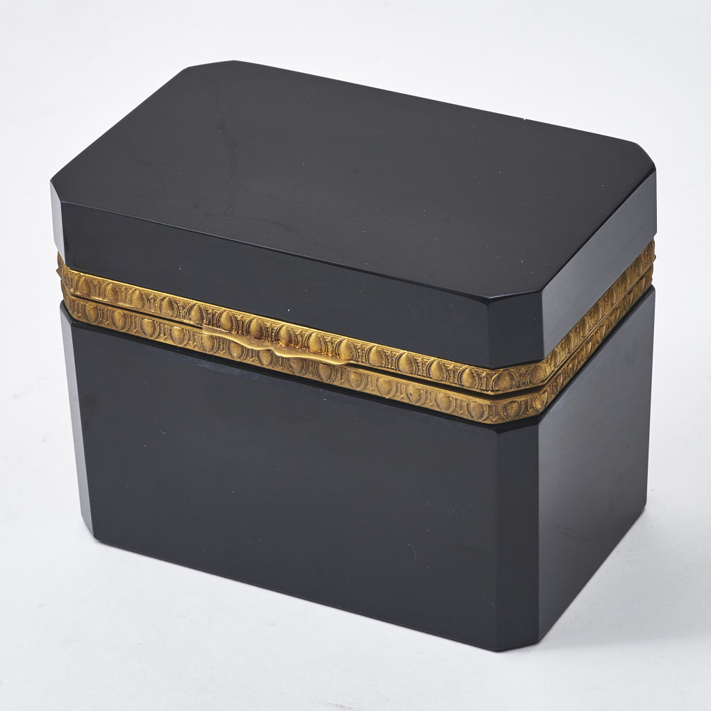 Black Glass Casket