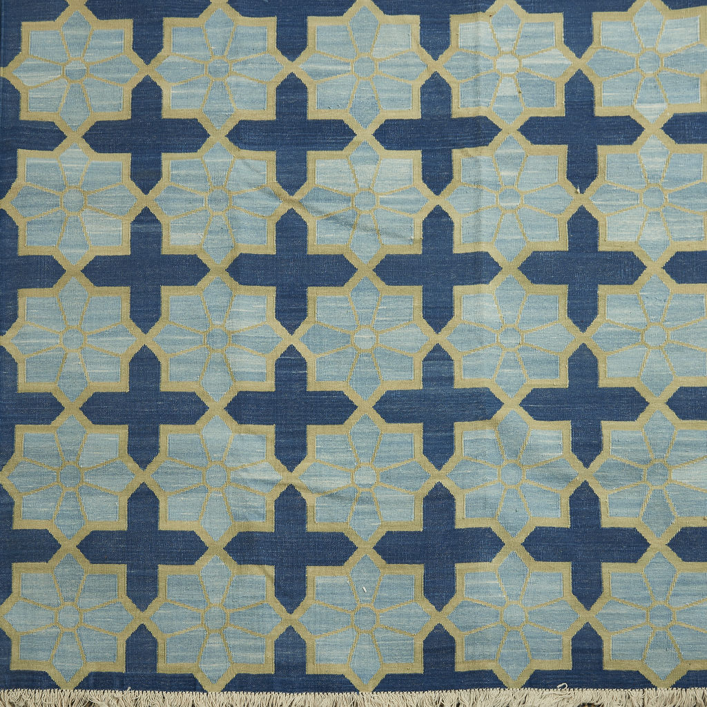 Contemporary Patterned Dhurrie