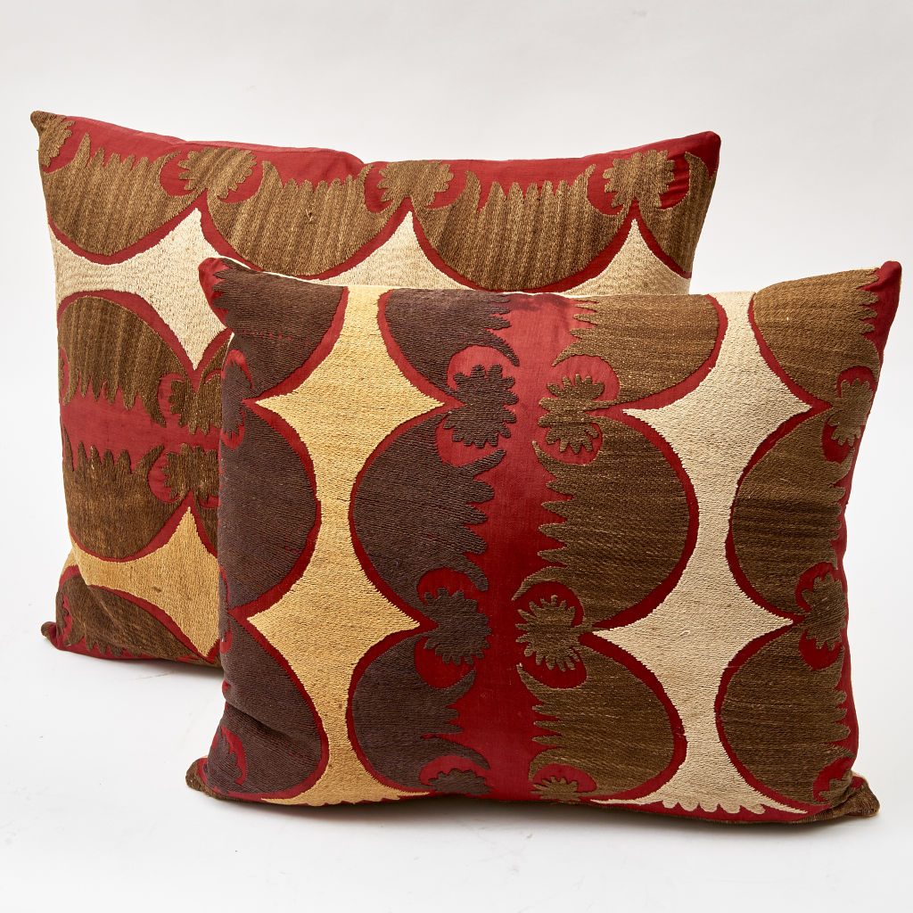 Red Suzani Cushions