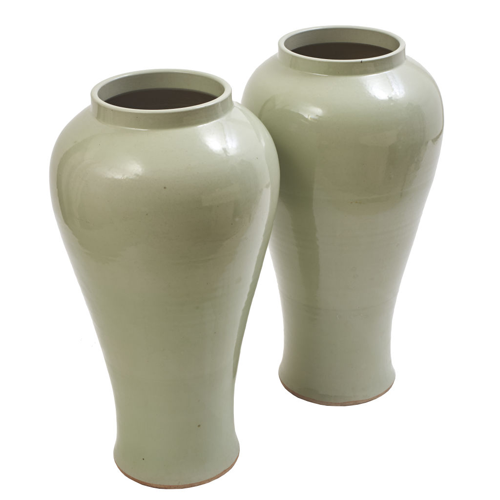 Tall Temple Jars
