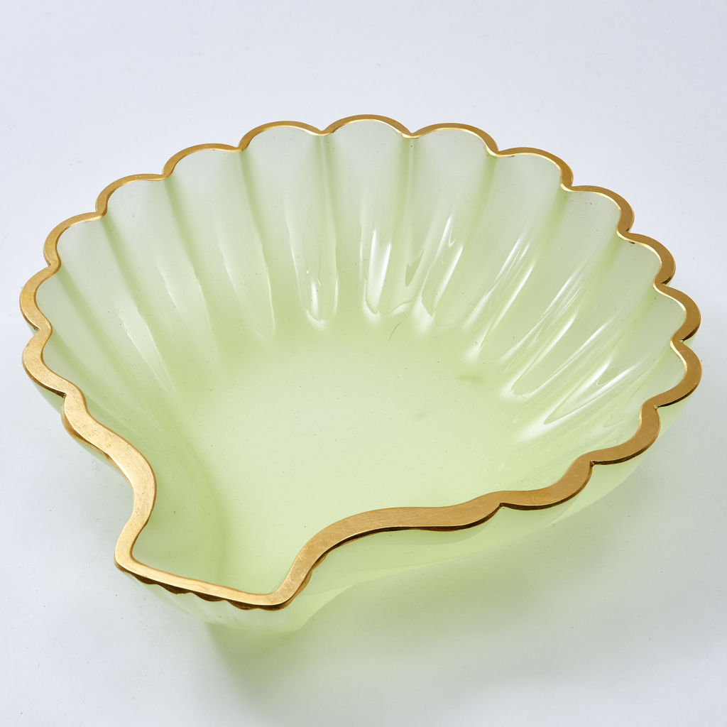 Murano Glass Shell Dish