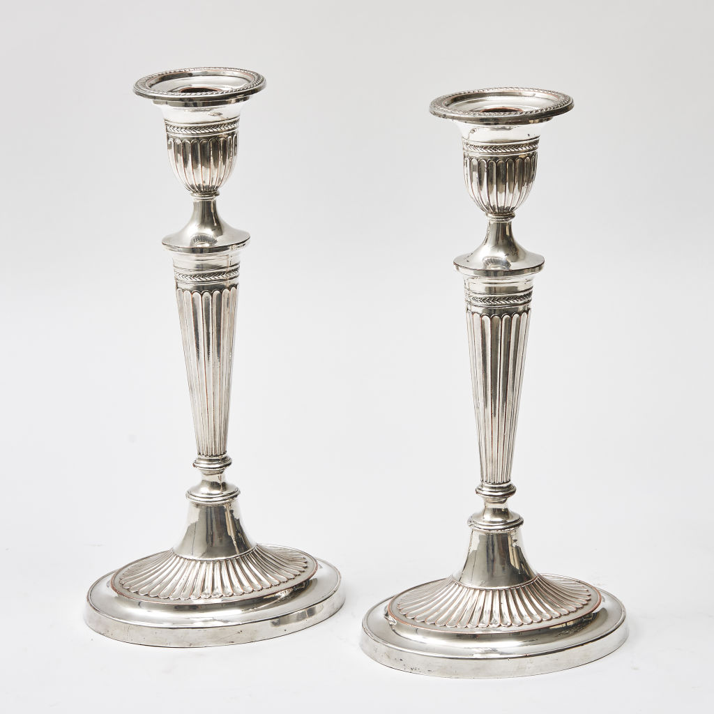 Victorian Neo-Classical Candlesticks