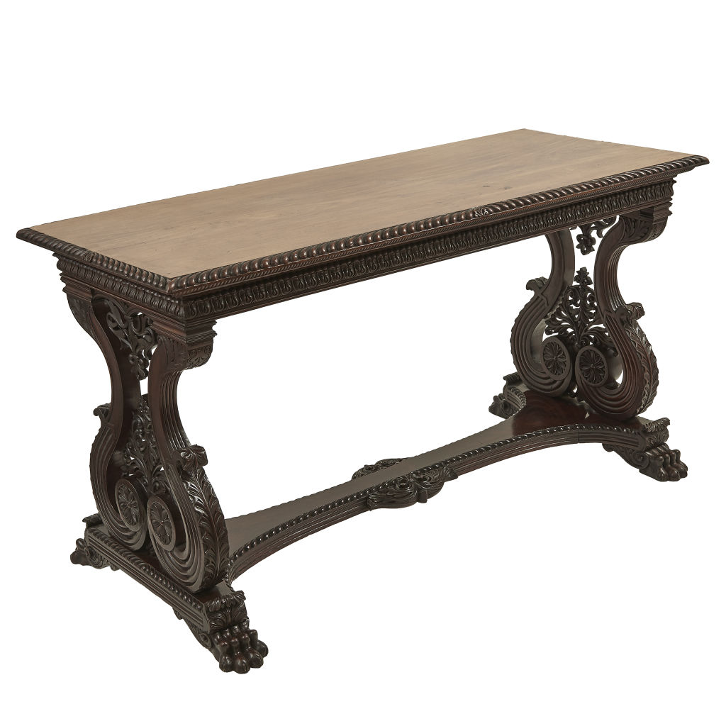 Anglo Indian Rosewood Table