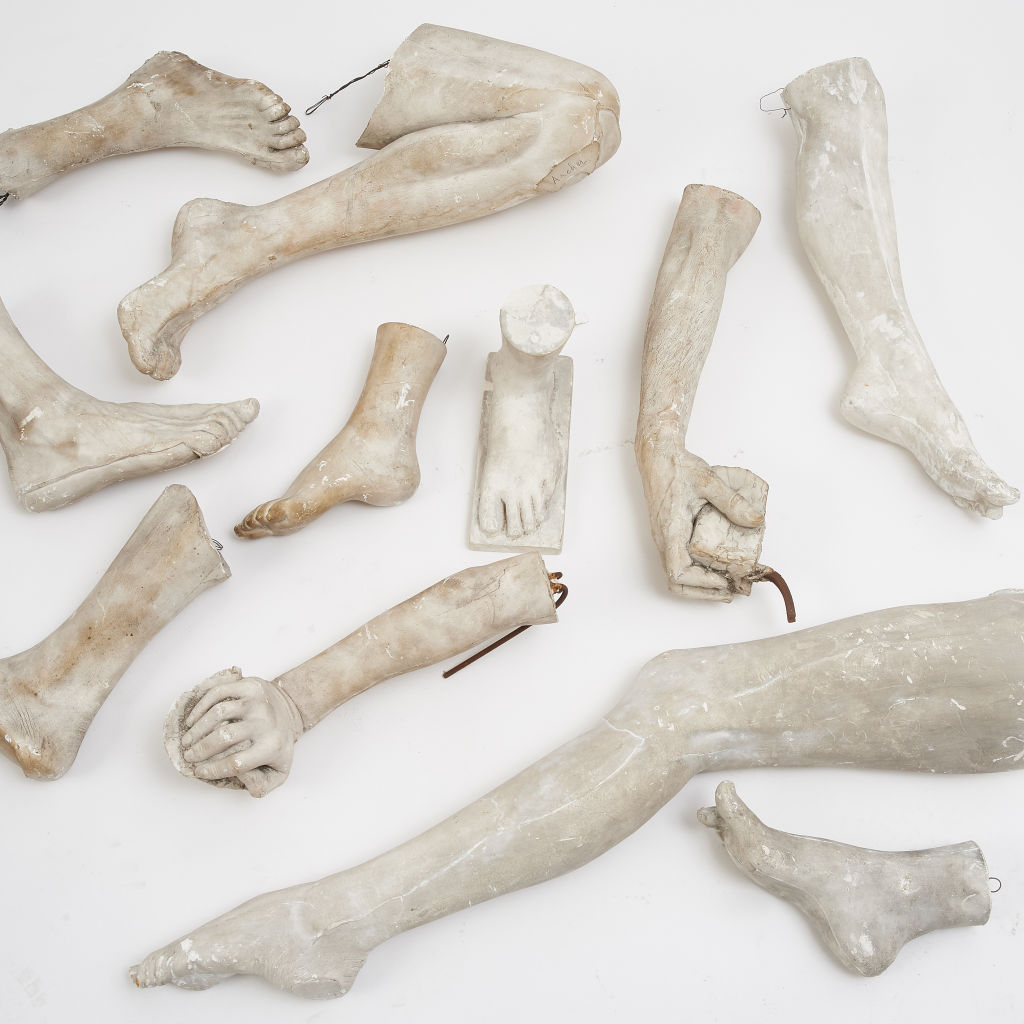 Collection of Plaster Sculptures