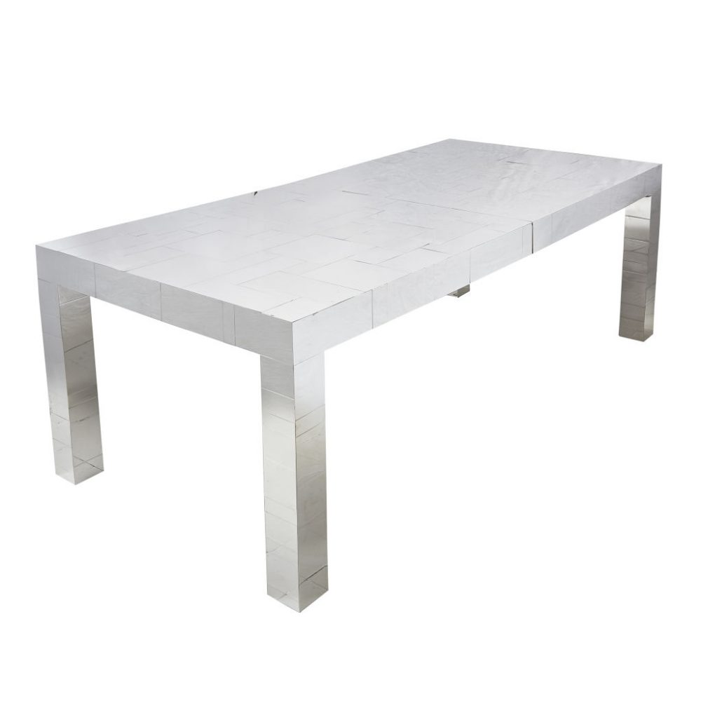 Paul Evans Chrome Dining Table