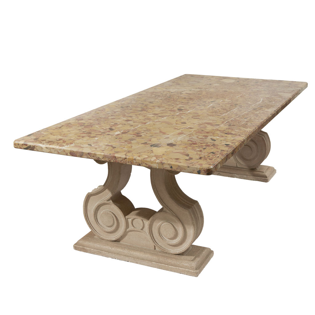 """Baroque"" Marble Table"