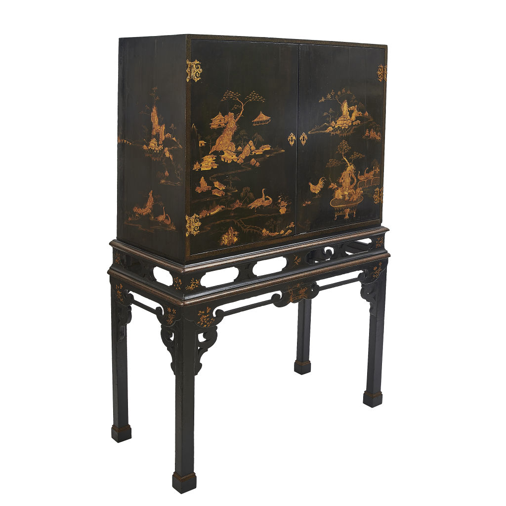 Japanned Cabinet