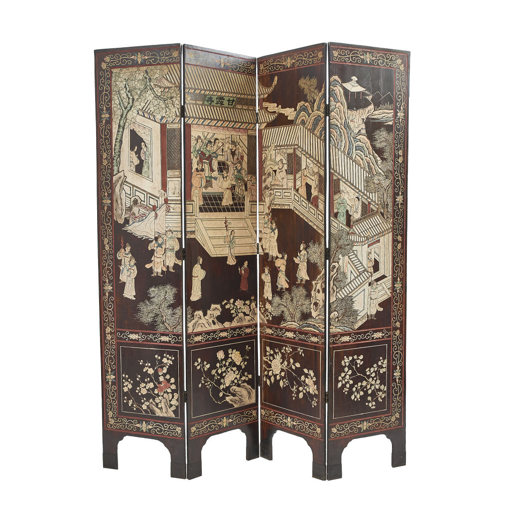 Four Fold Coromandel Screen