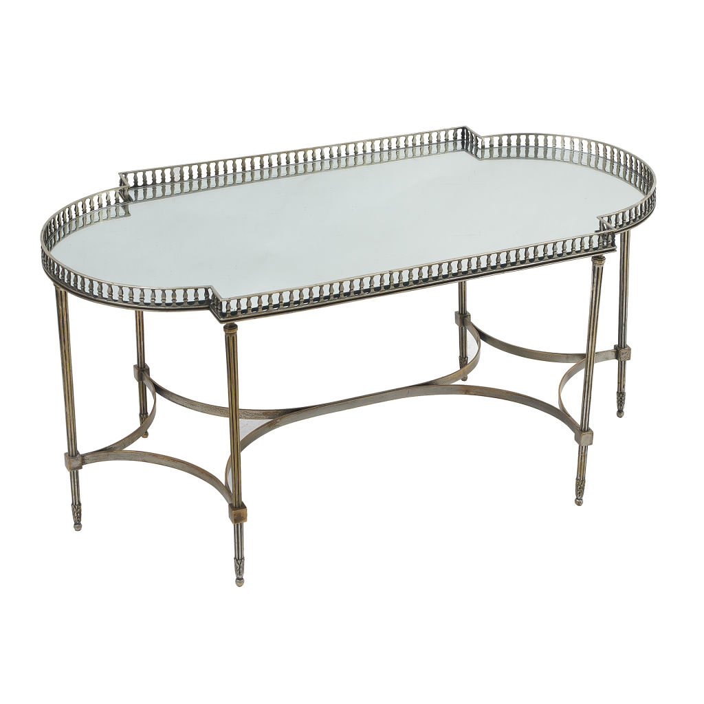 Silvered Tray Table