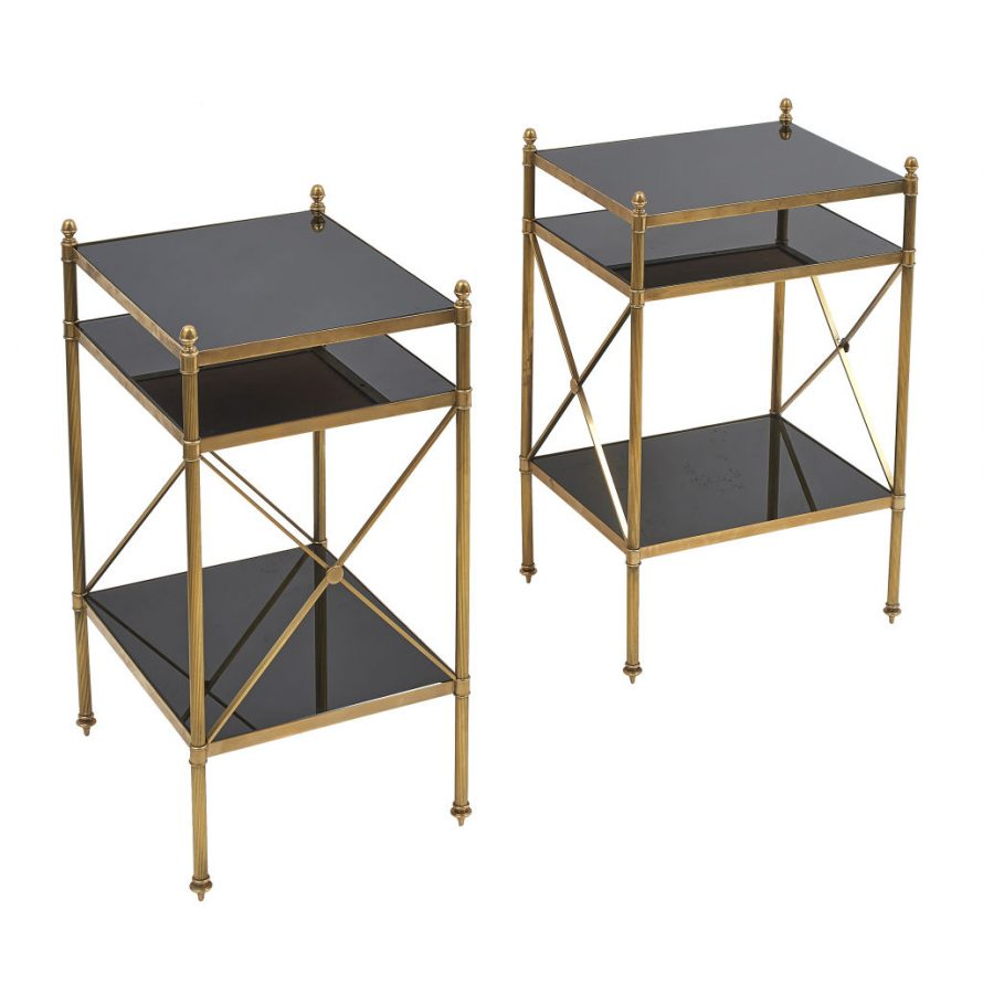 Neo-Classical Style Side Tables