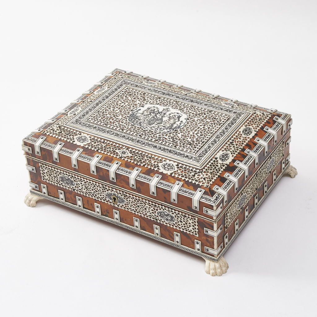 Anglo Indian Writing Box