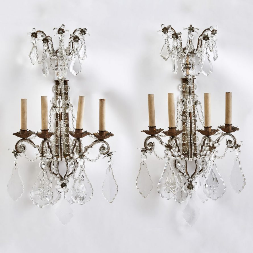 Beaded Wall Sconces
