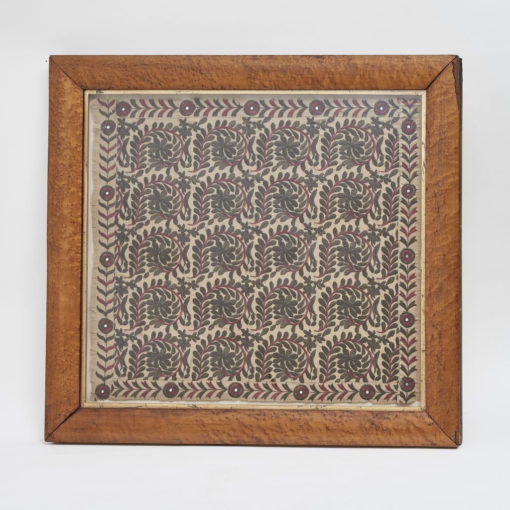 Silk Embroidered Panel