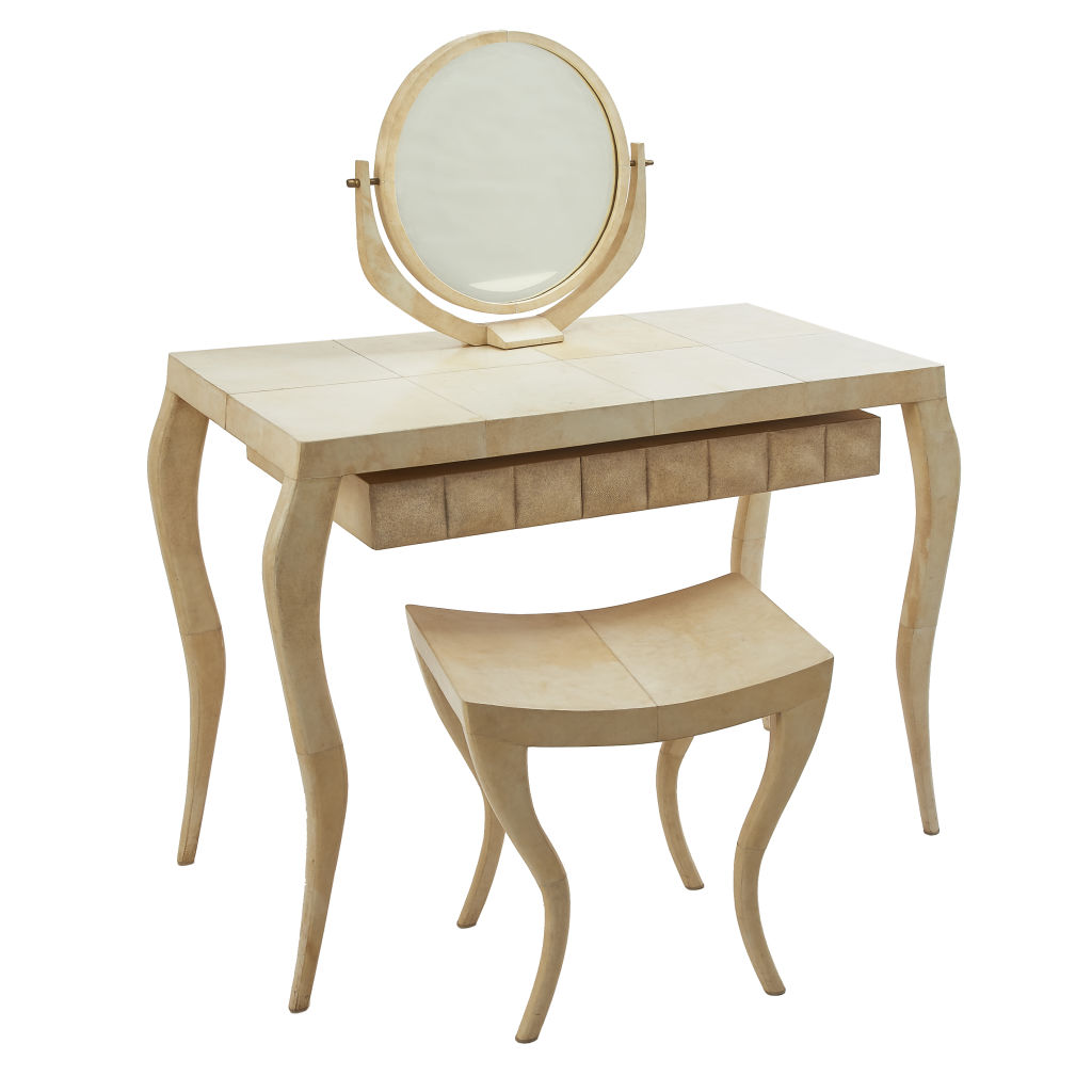 Parchment Dressing Table